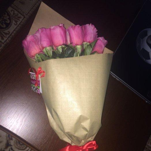 15 голландских роз!: букеты цветов на заказ Flowwow