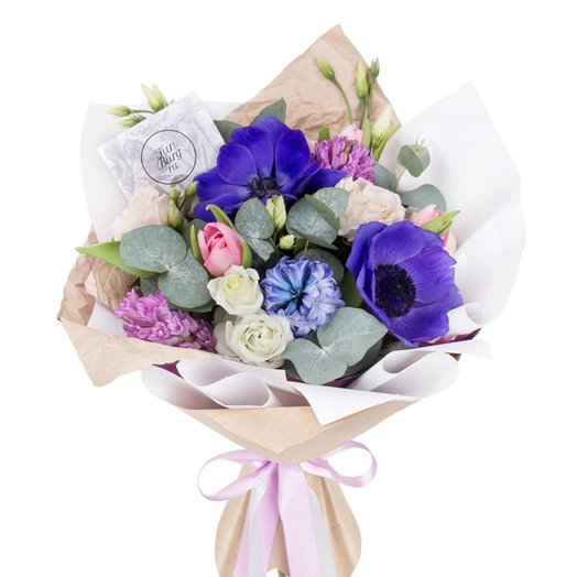 Букет «Вечернее небо»: букеты цветов на заказ Flowwow