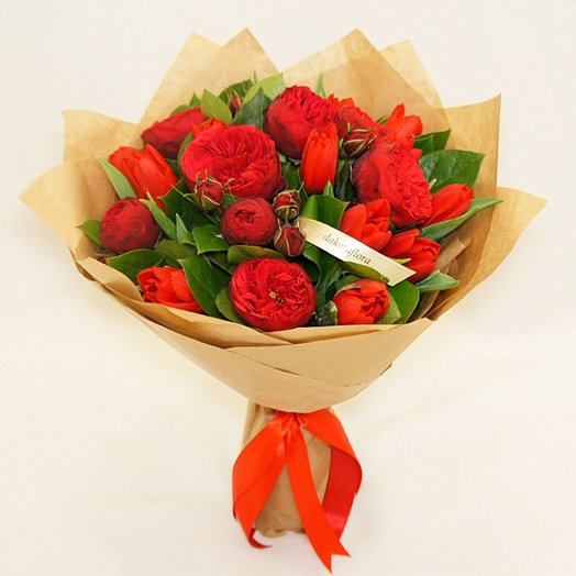 Ред Пиано / Red Piano: букеты цветов на заказ Flowwow