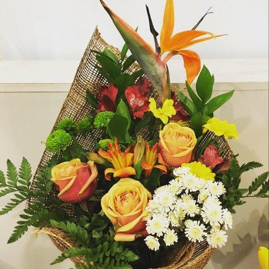 Необитаемый остров: букеты цветов на заказ Flowwow