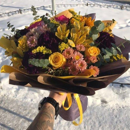 Осенний праздник: букеты цветов на заказ Flowwow