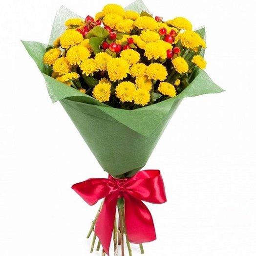 """Букет """"Ягоды на солнце"""". Код 180058: букеты цветов на заказ Flowwow"""