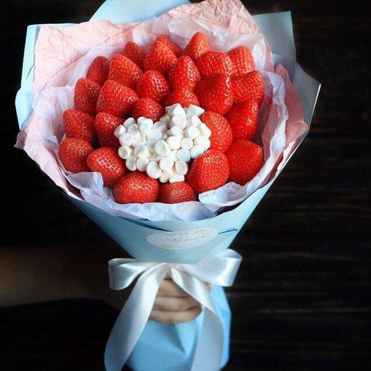Фруктовый букет Сахарная Вата: букеты цветов на заказ Flowwow