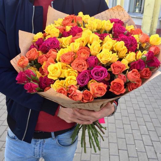 Color Mix: букеты цветов на заказ Flowwow