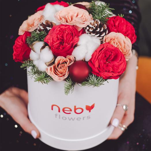 Санта Клаус: букеты цветов на заказ Flowwow