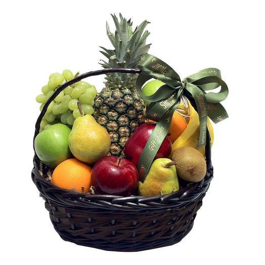 Великолепная корзина с фруктами