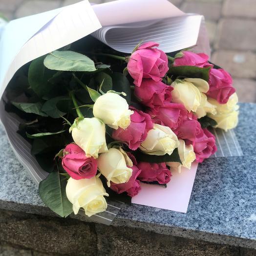 Букет «Джульетта» из 21 розы: букеты цветов на заказ Flowwow