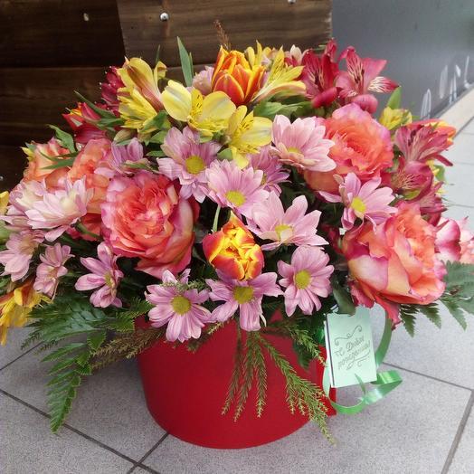 Весенняя роскошь: букеты цветов на заказ Flowwow