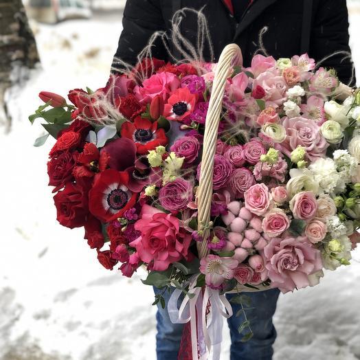 Огромный омбрэ: букеты цветов на заказ Flowwow