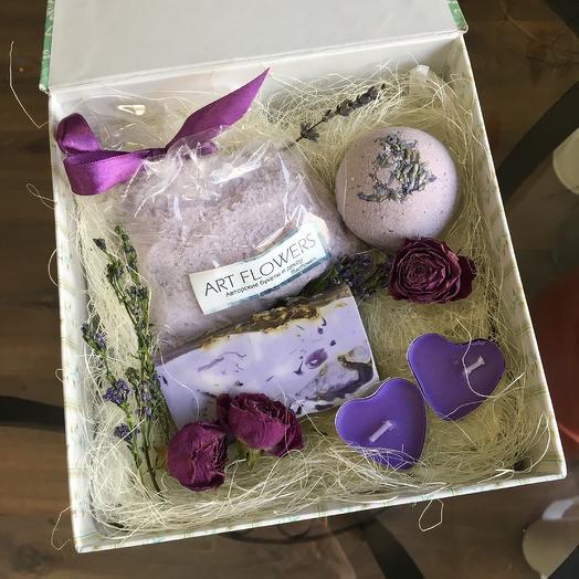 Мыльный набор: букеты цветов на заказ Flowwow