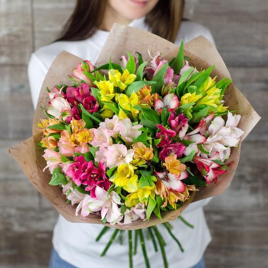 Alstroemeria mix: flowers to order Flowwow