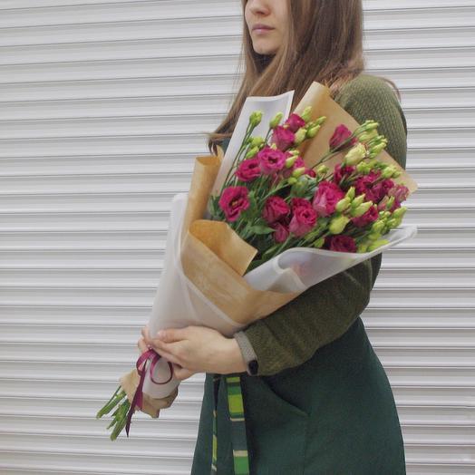 Букет «эустома»: букеты цветов на заказ Flowwow