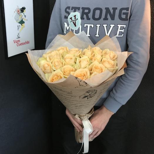 Пич Аваланж  S: букеты цветов на заказ Flowwow