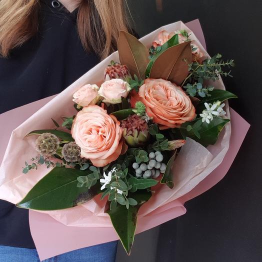 Теплый тропический: букеты цветов на заказ Flowwow