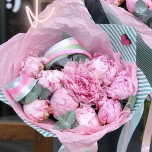 Пионовый сара бернар: букеты цветов на заказ Flowwow