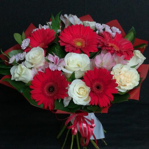Летняя полянка: букеты цветов на заказ Flowwow