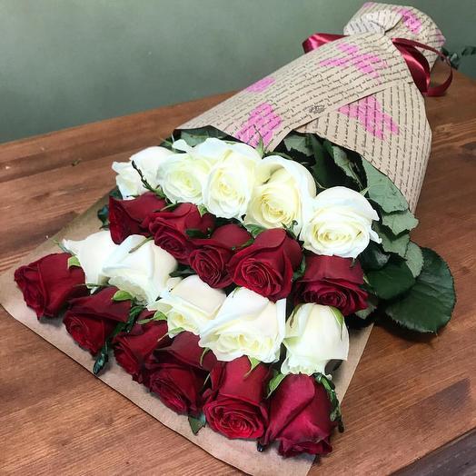 Букет 44: букеты цветов на заказ Flowwow