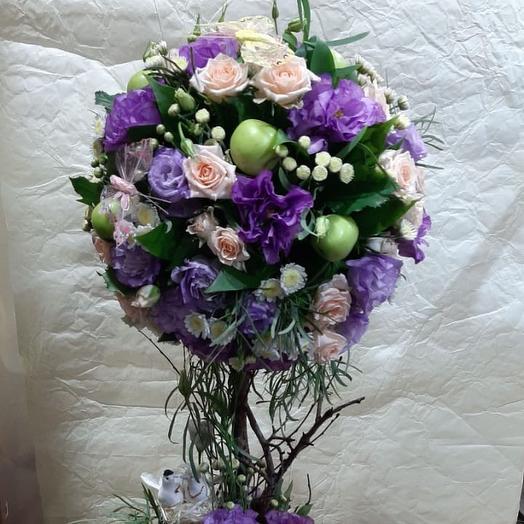 Композиция дерево: букеты цветов на заказ Flowwow