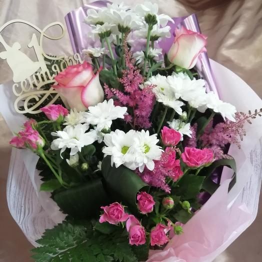 "Букет ""восторг"" на 1 сентября: букеты цветов на заказ Flowwow"