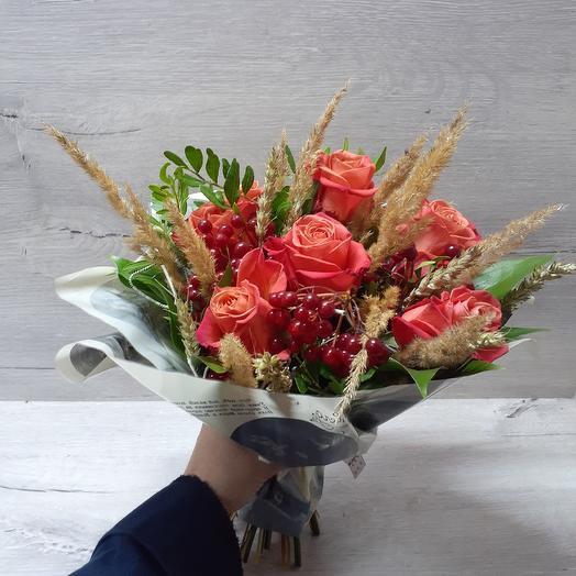 Калина: букеты цветов на заказ Flowwow