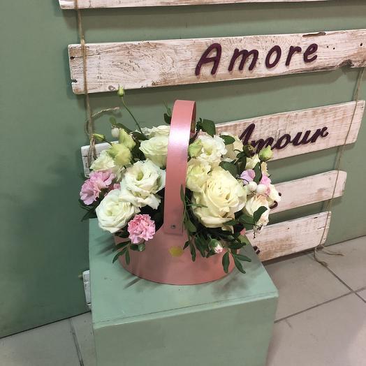 Нежность в лукошке: букеты цветов на заказ Flowwow