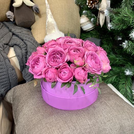 Коробка Мисти Баблс: букеты цветов на заказ Flowwow