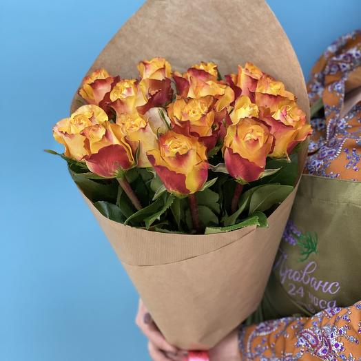 Яркие огни: букеты цветов на заказ Flowwow