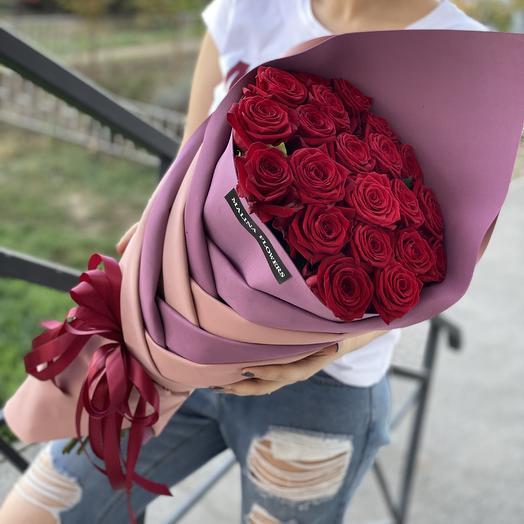 Розы в косе