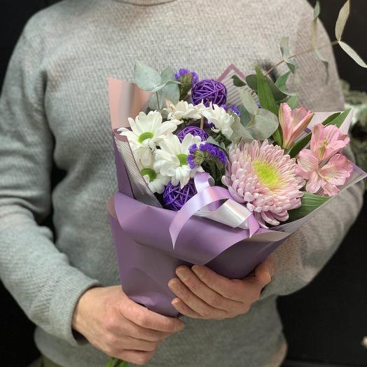Оттенки фиолетового: букеты цветов на заказ Flowwow