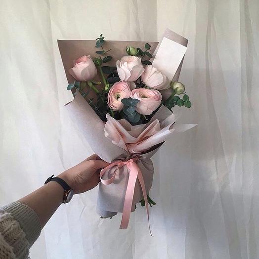 Почти пионы: букеты цветов на заказ Flowwow