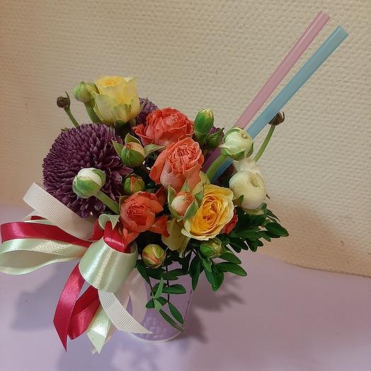 Витаминный коктейль: букеты цветов на заказ Flowwow