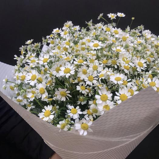 Ромашковые луга: букеты цветов на заказ Flowwow
