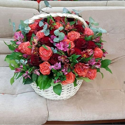 "Корзина ""Perfomance"": букеты цветов на заказ Flowwow"