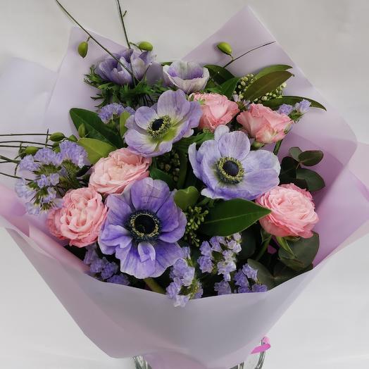 "Букет ""Весеннее утро"": букеты цветов на заказ Flowwow"
