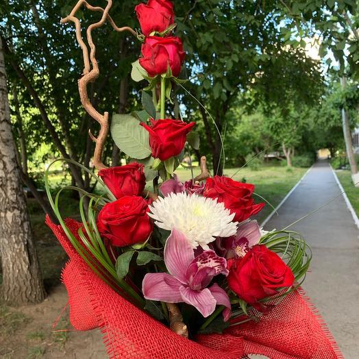 High bouquet