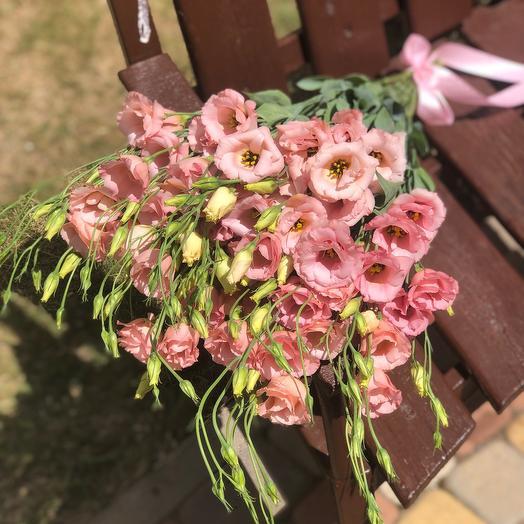 Коралловые французские розы