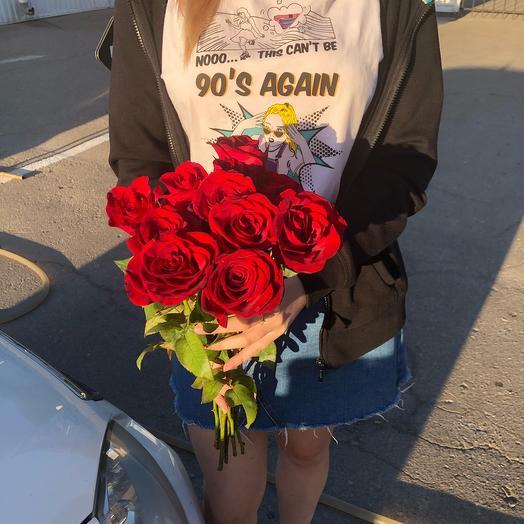 Роза Россия 40 см