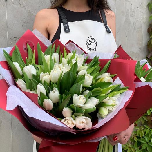 Букет Тюльпанов XL