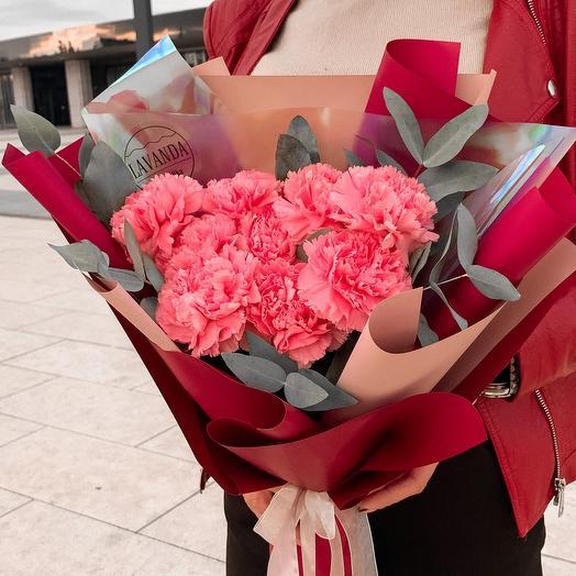 Букет «Розовый бархат»