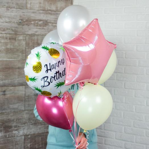 Набор шаров «Happy Birthday»