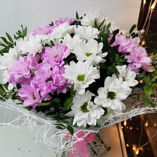 Букет хризантем