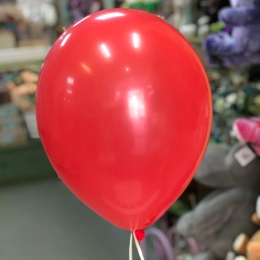 Воздушный шар красный