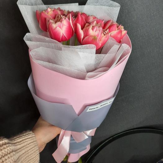 7 пионовидные тюльпаны