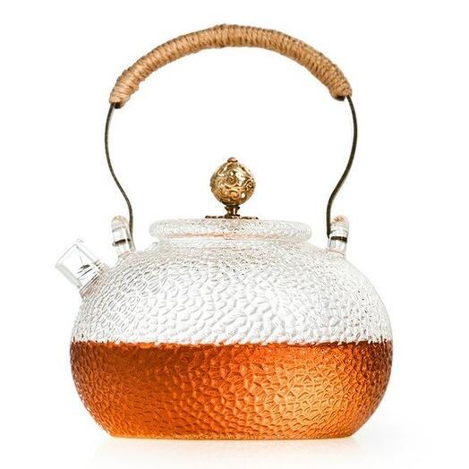 чайник, жаропрочное стекло, 650 мл 1 шт
