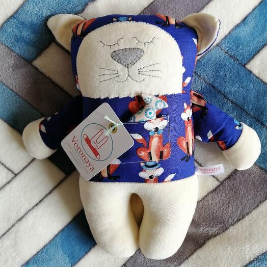 Дизайнерская игрушка VORONAYA TOYS BIG Котик 040506