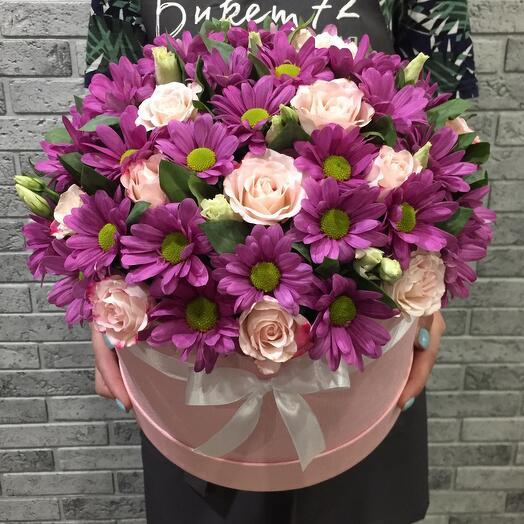 Цветы в коробке 0507