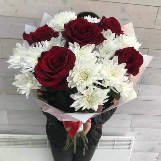 Букет Красная Роза 🌹