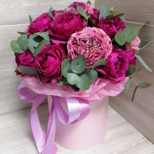 Версаль (кустовые розы + кустовые пионовидные розы)