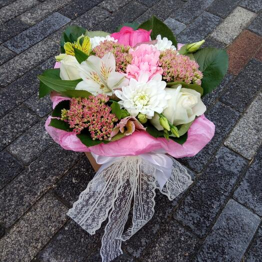 Flowers in a box