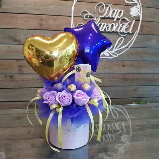 Набор с шариками «Фиолетовое настроение»